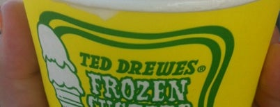 Ted Drewes Frozen Custard is one of America's Best Ice Cream Shops.