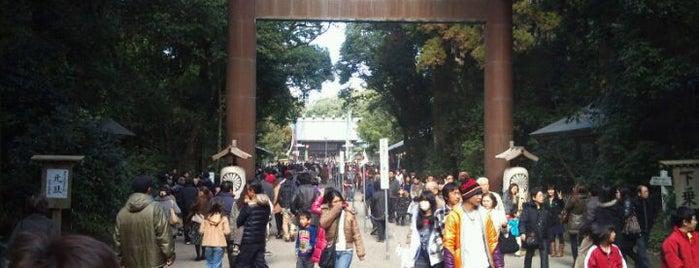 宮崎神宮 is one of 神社.