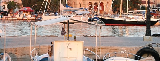 Aegina Port is one of Ελλαδα.