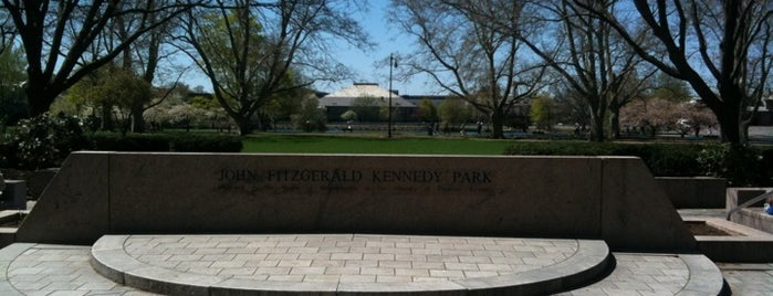 John F. Kennedy Memorial Park is one of MASSACHUSETTS STATE - UNITED STATES OF AMERICA.