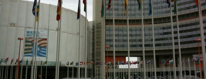 United Nations Office at Vienna (UNOV) is one of Vienna, Austria - The heart of Europe - #4sqCities.