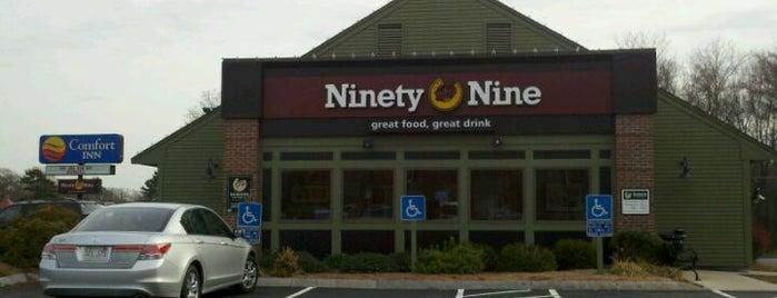 Ninety Nine Restaurant is one of Restaurants visited.