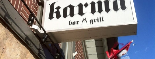 Karma Bar & Grill is one of Places to go out.