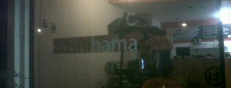 Sushi Hama is one of sushis probados por mi!.