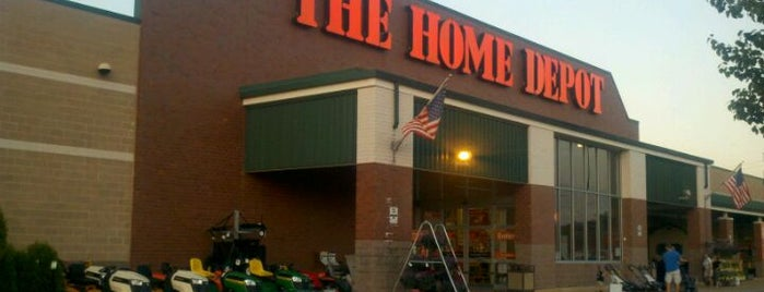 The Home Depot is one of Been there / &0r Go there.