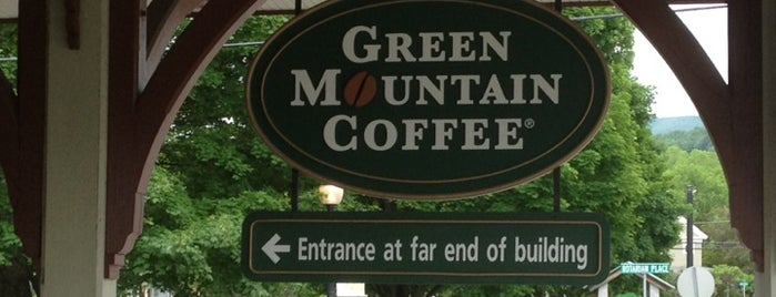 Green Mountain Coffee Visitor Center & Cafe is one of places to go.