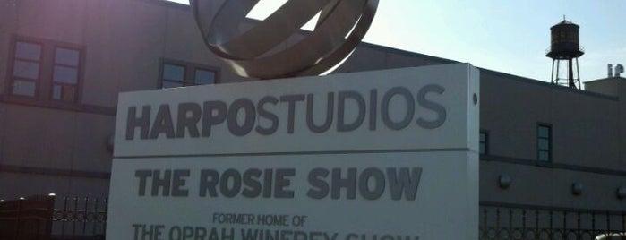 Harpo Studios is one of 2 do list # 2.
