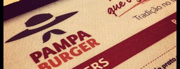 Pampa Burger is one of Favorite food/drink places in Porto Alegre, Brasil.