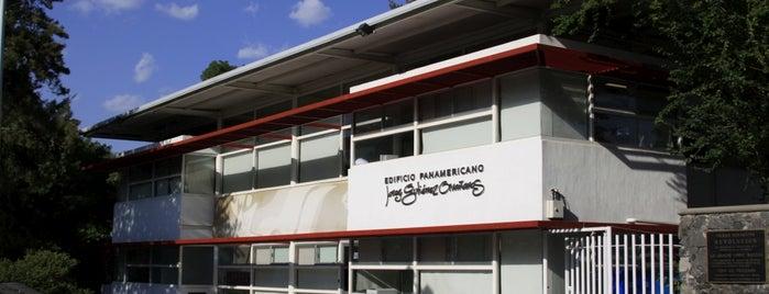 Edificio Panamericano Jorge Gutierrez Orvañanos is one of Instalaciones / Venues.