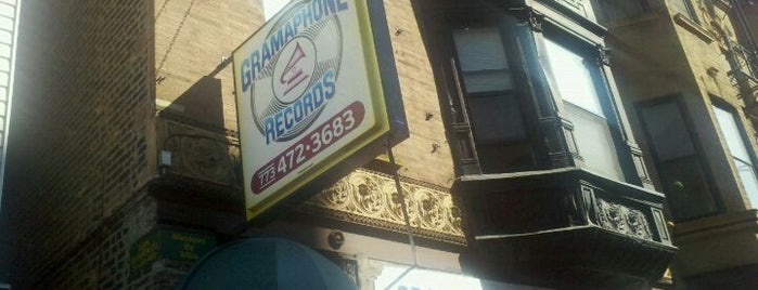 Gramaphone Records is one of Record Shops: Chicago.