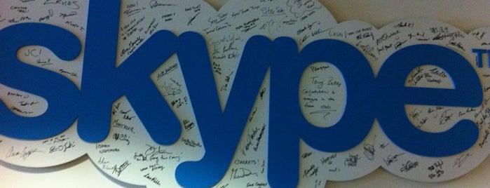 Skype is one of Quero trabalhar aqui!.