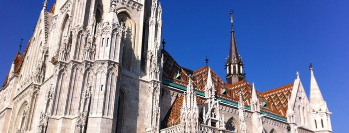 Matthias Church is one of Budapest Sightseeing.