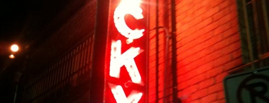 Lucky Lounge is one of STA Travel - Austin's Best Live Music Spots.