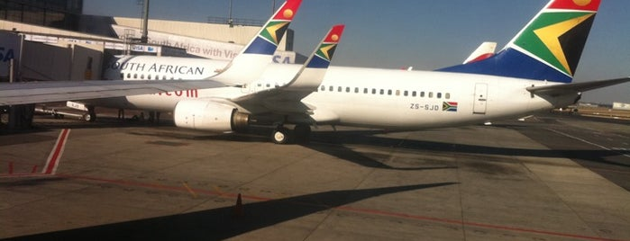 O. R. Tambo International Airport (JNB) is one of Airports in Europe, Africa and Middle East.