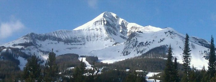 Big Sky Resort is one of The Best of the Gallatin Valley.
