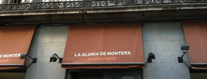 La Gloria de Montera is one of Mis Restaurantes favoritos de Madrid.