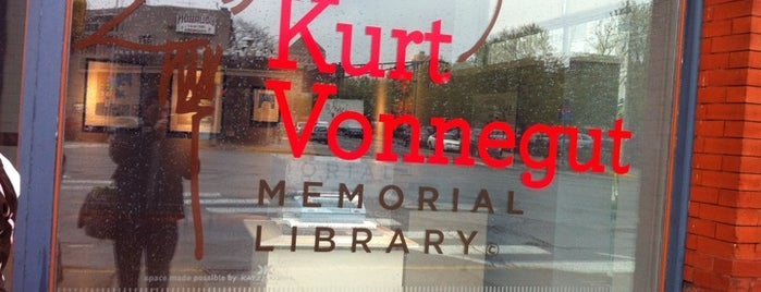 Kurt Vonnegut Memorial Library is one of The Best Places in Indianapolis - #VisitUs.