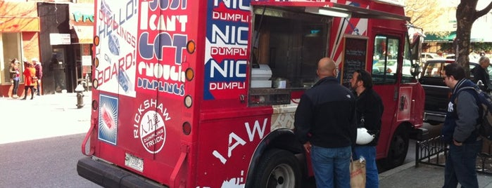 Rickshaw Dumpling Truck is one of New York's Finest: Food Trucks.