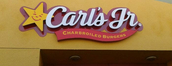 Carl's Jr is one of Mis restaurantes favs!.