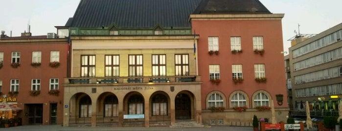Budova zlínské radnice is one of The best venue of Zlin #4sqCities.