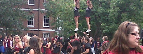 University of South Carolina is one of College Love - Which will we visit Fall 2012.