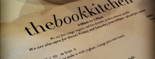 The Book Kitchen is one of Sydney Eats.