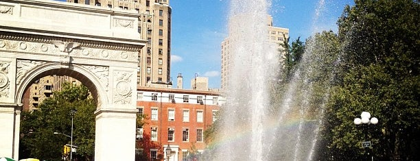 Washington Square Fountain is one of The 15 Best Places for People Watching in New York City.