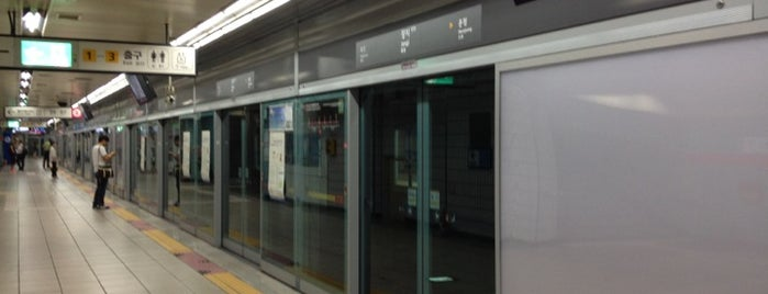 Jangji Stn. is one of Subway Stations in Seoul(line5~9).