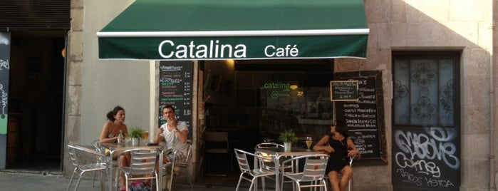 Catalina Café is one of Terrazas de Barcelona.