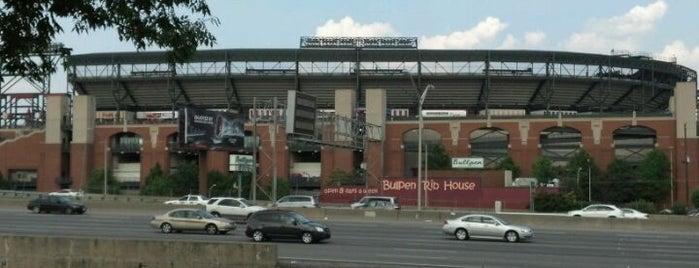 Turner Field Ticket Office is one of #416by416 - Dwayne list1.