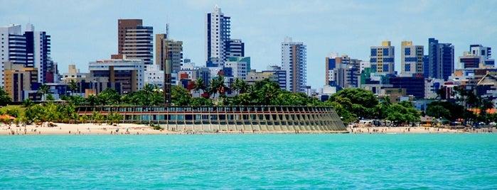 Praia de Tambaú is one of João Pessoa #4sqCities.