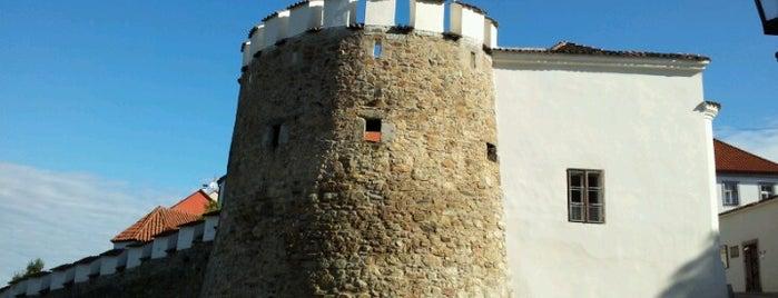 The Putim Gate is one of Písek.