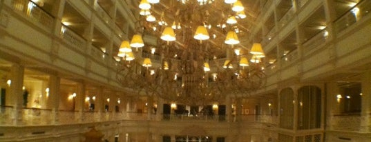 Disney's Grand Floridian Resort & Spa is one of Places Tony Stark would hang out in Central FL.