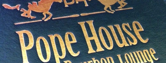 Pope House Bourbon Lounge is one of Hough PDX.