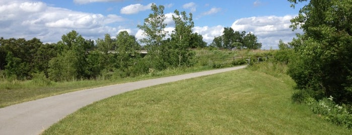 Erie Canal Trail is one of Roc.
