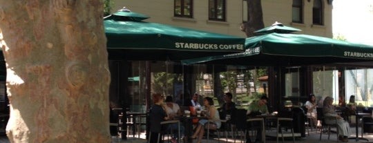 Starbucks is one of 🤗.