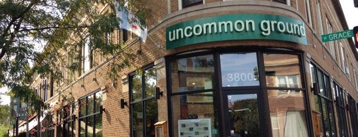 Uncommon Ground is one of Vegan to do's.