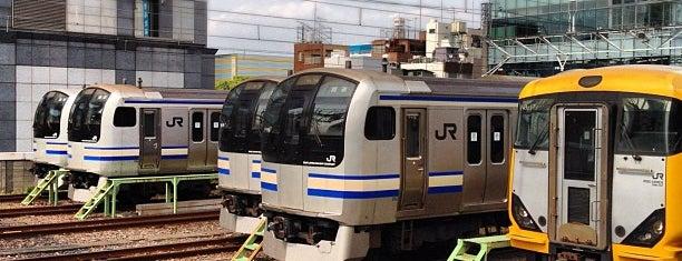 JR Kinshichō Station is one of 近所.