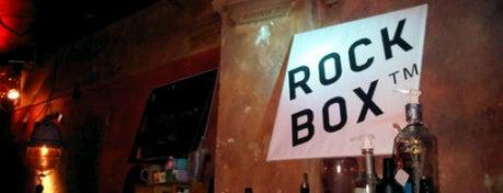 Rockbox Bar is one of Bars + Restaurants.