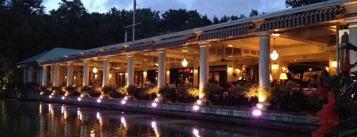 The Loeb Boathouse is one of breakfast.