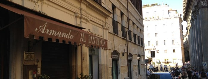 Armando al Pantheon is one of Mangiare.