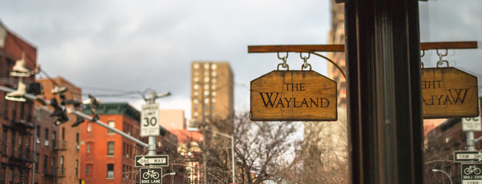 The Wayland is one of NYC Bars: To Go.
