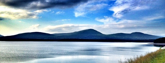 Ashokan Reservoir is one of Woodstock, NY.