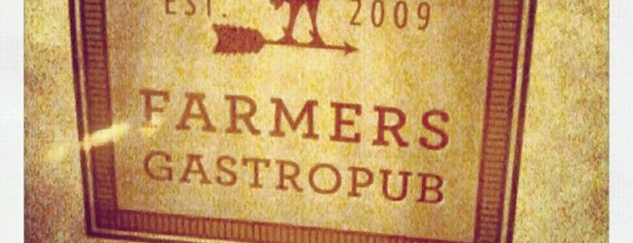 Farmers Gastropub is one of Future adventures.