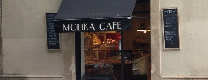 Molika Cafe is one of Barcelona.