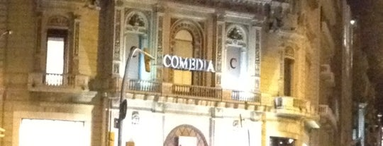 Comedia is one of Barcelona.
