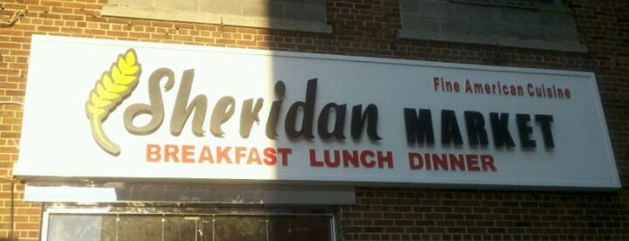 Sheridan Market is one of to do.
