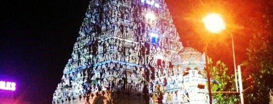 Kapaleeswarar Temple is one of Space Matrix.