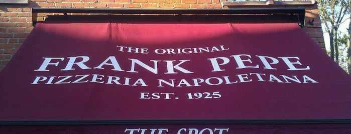 Frank Pepe Pizzeria Napoletana is one of The Haven's of New Haven #4sqCities.
