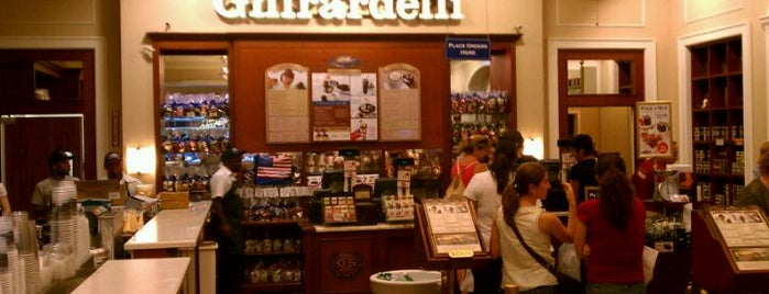 Ghirardelli Ice Cream & Chocolate Shop is one of The 15 Best Places for Hot Chocolate in Chicago.